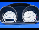 2002-2008 BMW Z Series Z4 E85 E86 White Face Gauges